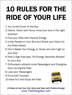 image about Printable School Bus Rules known as The Electrical power Bus Poster Down load